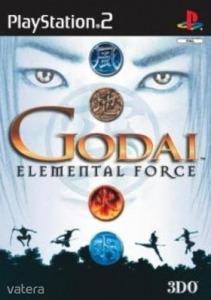 PS2  Játék GoDai: Elemental Force