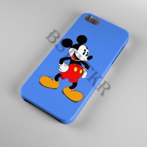 Mickey egér mintás Samsung Galaxy A50 tok hátlap tartó