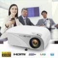 Prémium LED projektor távirányítóval (800x480, 1200 lm, magyar menü)