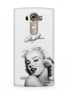 Marilyn Monroe mintás LG K8 tok hátlap