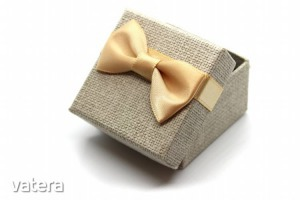 Kis ajándékdoboz szürke