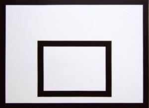 Üvegszálas palánk, iskolai 180x105 cm