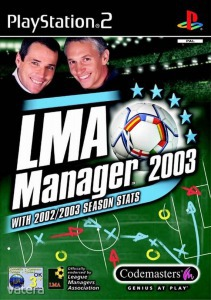 PS2  Játék LMA Manager 2003