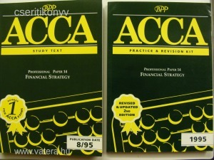 ACCA Study Text + Practice & Revision Financial 14 57/1711l