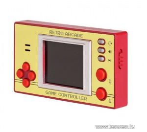 Retro Pocket játék LCD képernyővel, új, kvarcjáték, 100db játékkal