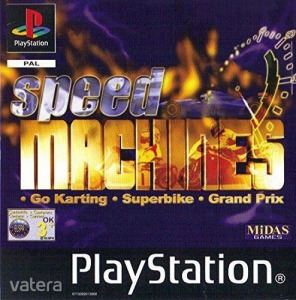 PS1  Játék Speed Machines - AF