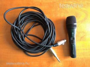 Sennheiser E845S Mikrofon és kábel