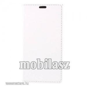 Notesz tok,Sony Xperia XZ1,Fehér mintás