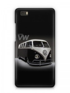 Volkswagen mintás Huawei P8 tok hátlap