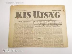 Kis Újság - A Független Kisgazda-, Földmunkás- és Polgári Párt lapja / 1946 február 20. (*812) - 500 Ft Kép