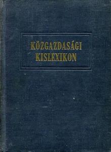 Közgazdasági kislexikon (Kozlov-Pervusin)