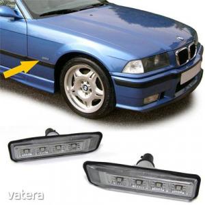 BMW E36 E53 X5 fekete füst burás SMD LED oldalindex szett