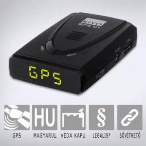 KIYO GPS U1 telepített traffipax előrejelző teljes Európa adatbázissal, magyar nyelvű beszédhangg...