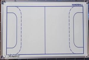 Taktikai tábla kézilabdázáshoz, 90×60 cm-s WINART