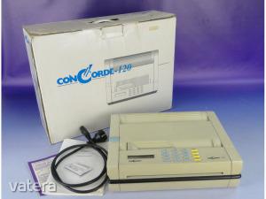 0F205 Retro CONCORDE 120 távmásoló telefax
