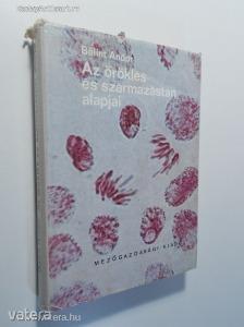 Bálint Andor: Az öröklés és származástan alapjai (*82) - Vatera.hu Kép