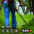 Black benzines fűkasza 5,2LE 3 kiegészítővel 53081