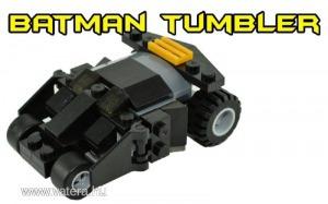 Batman autó, Batmobil , műanyag építőjáték - ÚJ