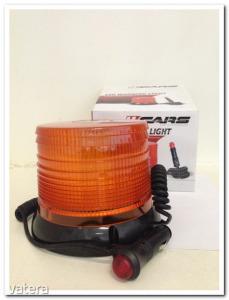 Villogó megkülönböztető jelzőfény LED-es, E-jeles, 12-24V