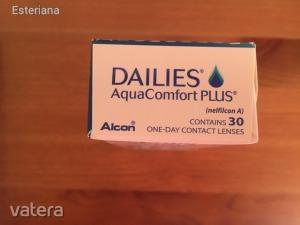 Dailies Aqua Comfort Plus napi lencse (30db) -3.00