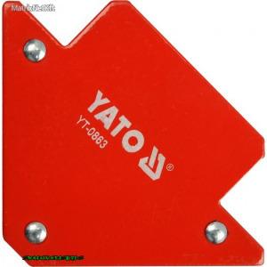 YATO 0863 Hegesztő sablon 82X120X13mm