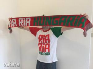 Ria Ria Hungária Hajrá Magyarország kötött szurkolói sál