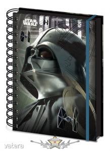 Star Wars - Rogue One - Darth Vader - A5 Jegyzetfüzet. A5 Notebook. napló, notesz