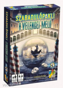 dV Giochi Szabadulópakli: A velencei meló szabadulószoba társasjáték