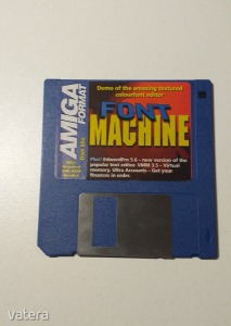 AMIGA Játék Font Machine - DEMO - G