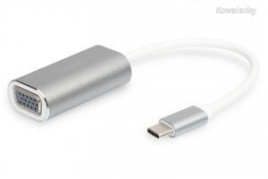 Digitus USB Type-C 1080p VGA Adapter, 20cm cable length DA-70837