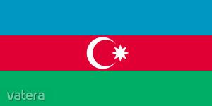 Nemzeti lobogó ország zászló nagy méretű 90x150cm - Azerbajdzsán, azeri