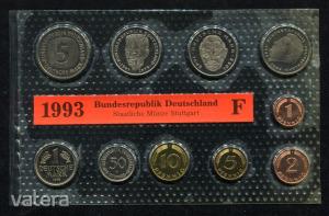 1993 F  Németország  nylon tokos forgalmi sor  BG30