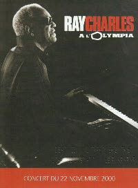 RAY CHARLES - A L'Olympia 2000 DVD
