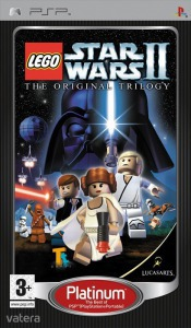 PSP Játék LEGO Star Wars II - The original trilogy PLATINUM - F