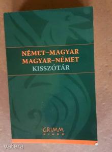 Magyar-Német, Német-Magyar Kisszótár