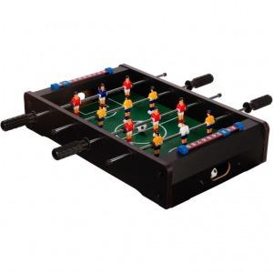 Mini asztali foci lábakkal 70 x 37 x 25 cm - fekete 96623f905f