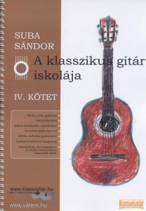 A klasszikus gitár iskolája IV.
