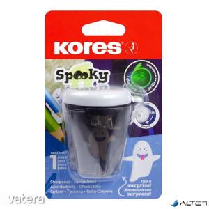Hegyező, kétlyukú, tartályos, KORES 'Spooky '