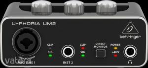 Behringer - UM2 U-Phoria 2x2 külső USB hangkártya