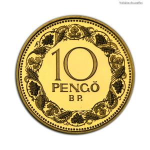 Magyar Királyság 10 Pengő 1928 Utánveret PP 2011