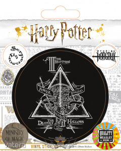 HARRY POTTER (SYMBOLS) STICKERS. matrica szett
