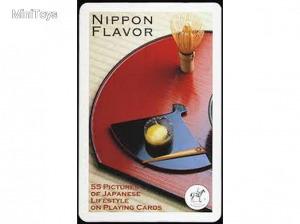 Nippon Flavour 1x55 lapos römi kártya - piatnik