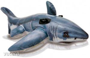 Intex Nagy fehér cápa lovagló matrac 173x107cm