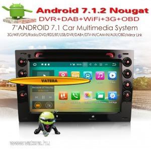 Renault Megan Android 7.1.2 Quad-Core Bluetooth GPS WiFi