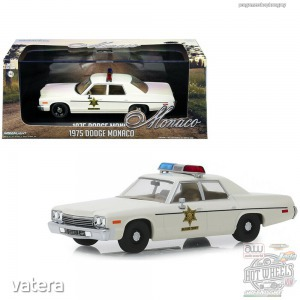 GreenLight 1975 Dodge Monaco Hazzard County Sheriff 1:43