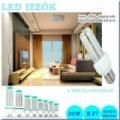 LED izzó 30 w fénycső E27 foglalattal - meleg/hideg fény