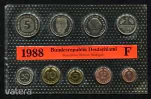 1988 F  Németország  nylon tokos forgalmi sor  BG24