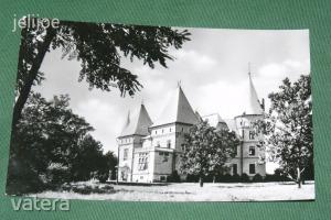 Képeslap,Tiszadob,gyermekotthon,kastély