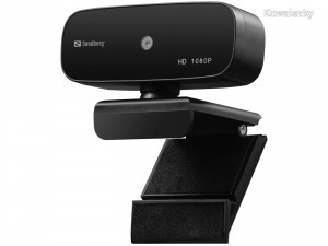 Sandberg USB Webcam Autofocus 1080P HD Webkamera Black 134-14