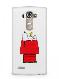 Snoopy mintás LG K8 tok hátlap
